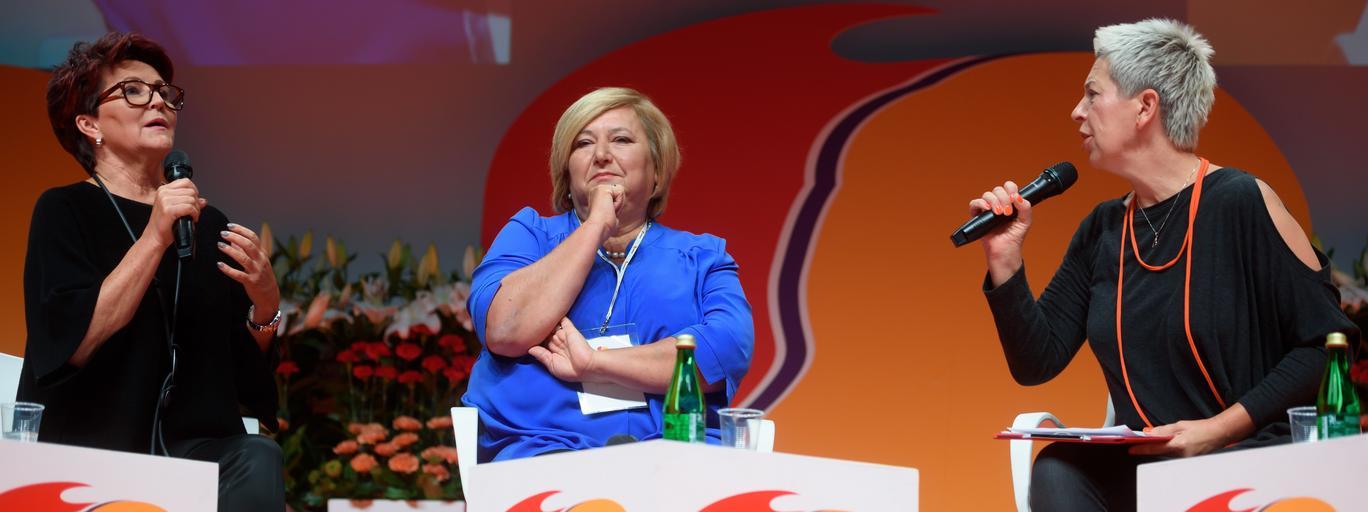 Dorota Warakomska, Jolanta Kwaśniewska, Anna Komorowska
