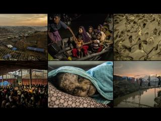 Rohingja czekająnamonsun