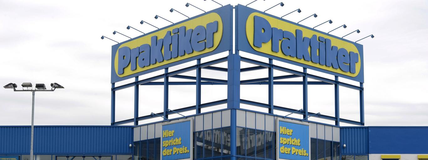 File picture shows the German do-it-yourself retailer Praktiker in Hamburg