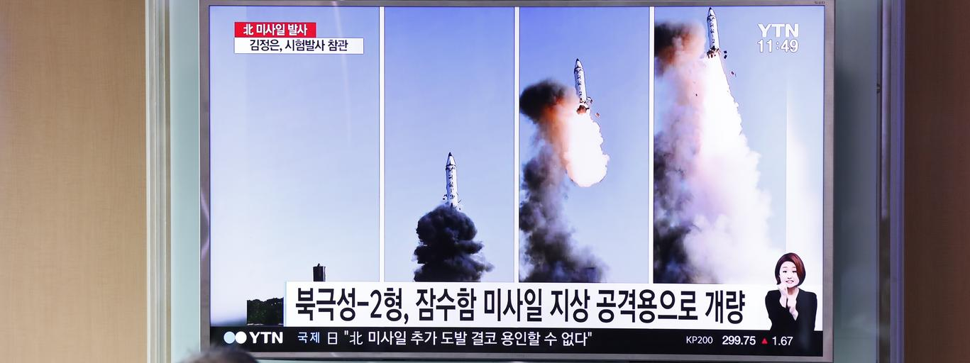 North Korea fires new ballistic missile test