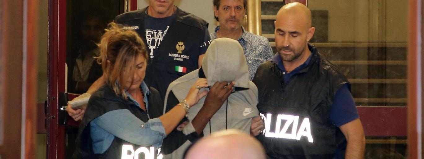Rimini Włochy policja gwałt