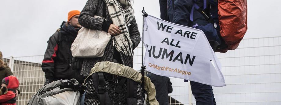 Citizens' march for Aleppo