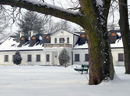 Mikołaj Rej urodziny dworek zima śnieg