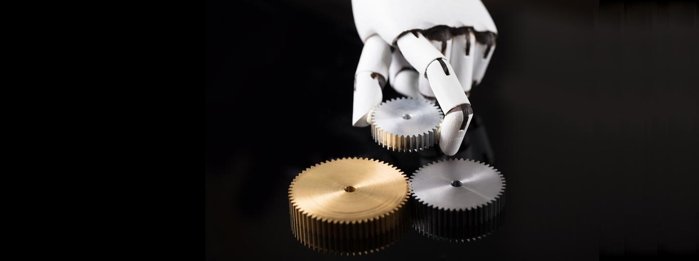 robot ręka android technologia