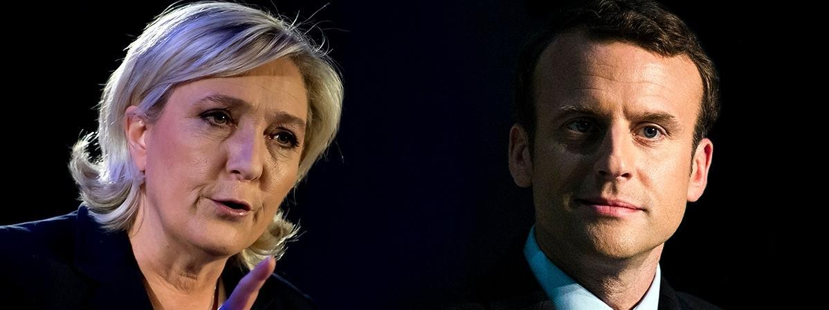 wybory Francja Macron Le Pen