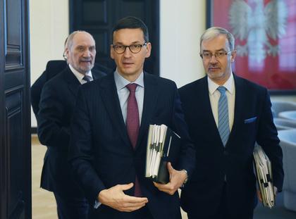 Jerzy Kwieciński, Antoni Macierewicz, Mateusz Morawiecki