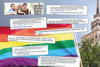 """Osoby LGBT zniszczą Polskę. Rodzina to nie """"zaćpane lesbijki"""""""