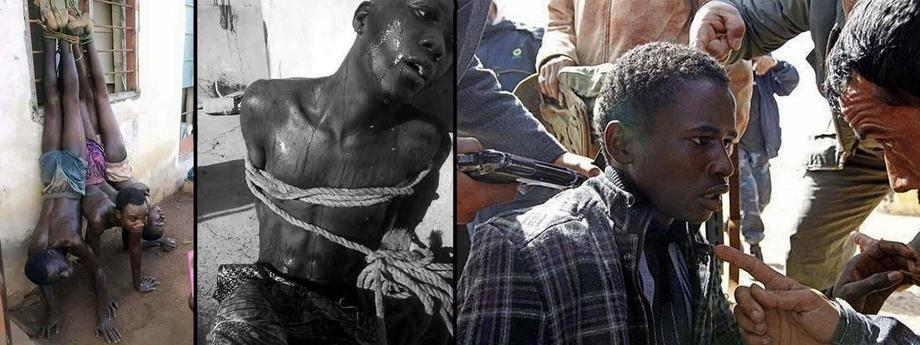 Niewolnictwo, handel ludźmi, Libia