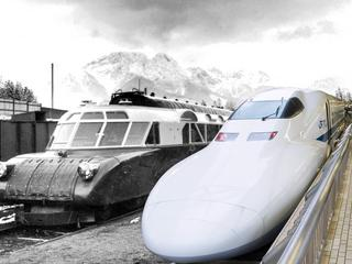 Luxtorpeda i pociąg dużych prędkości