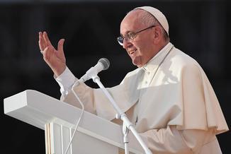 """Franciszek: """"Unia to nie protokoły, ale życie"""""""