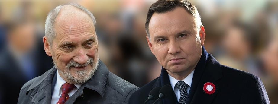 Antoni Macierewicz Andrzej Duda Macierewicz Duda