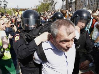 Ponad 1000 osób zatrzymano na demonstracjach przeciwko Putinowi