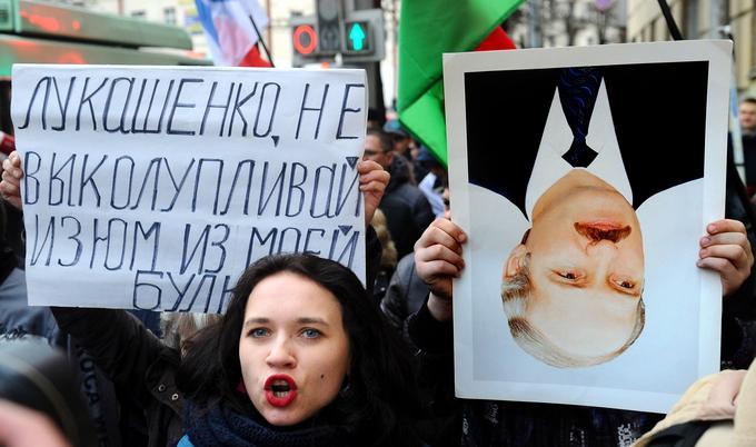 Marzec 2017 roku. Antyrządowe protesty w Mińsku