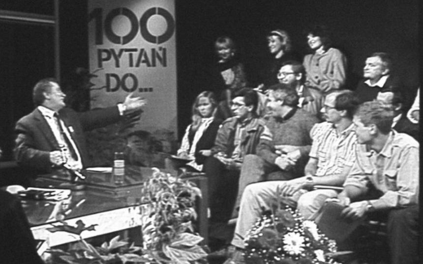 """Lech Wałęsa w studio """"100 pytań do..."""""""