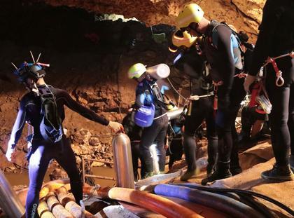 Tajlandia jaskinia chłopcy