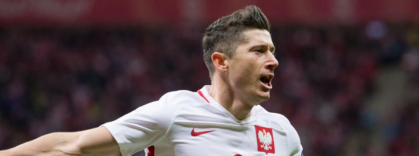 Robert Lewandowski reprezentacja Polski piłka nożna futbol