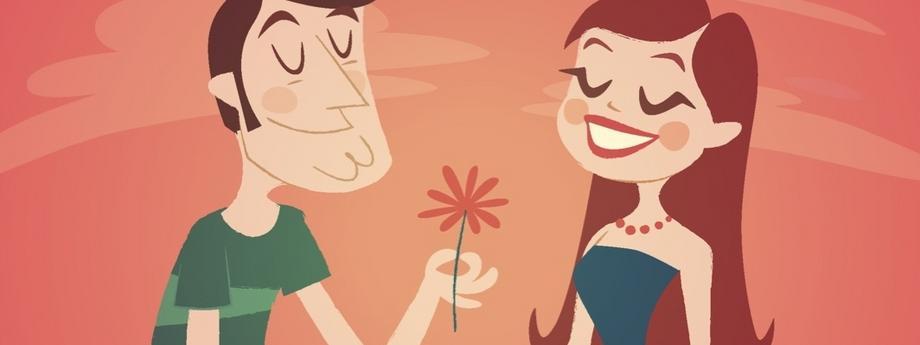 randka miłość walentynki para restauracja