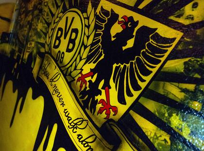 Borussia Dortmund sports bar in Hamburg