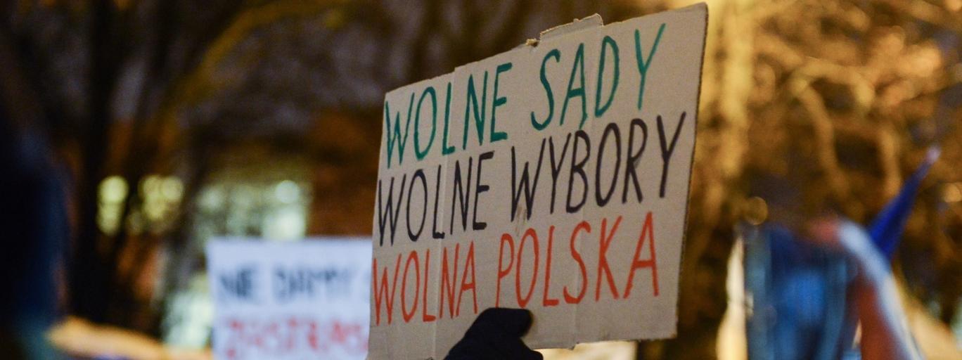 Obywatele RP Sejm protest