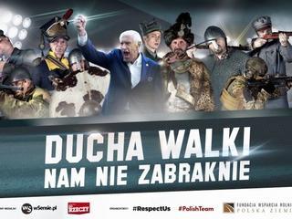 """""""Respect Us"""". Militarno-sportowa kampania z Gmochem przywołuje najgorsze skojarzenia"""