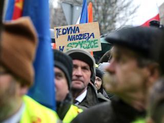 """""""Spontaniczny"""" wiec poparcia dla ministra Szyszki"""
