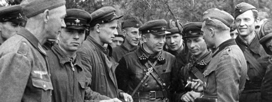 Polen, Treffen deutscher und sowjetischer Soldaten