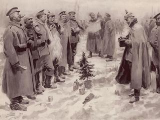 Święta w okopach. Tylko Legia Cudzoziemska przystąpiła tego dnia do ataku