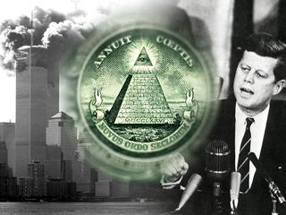 Zakon Iluminatów, atak na WTC, JFK