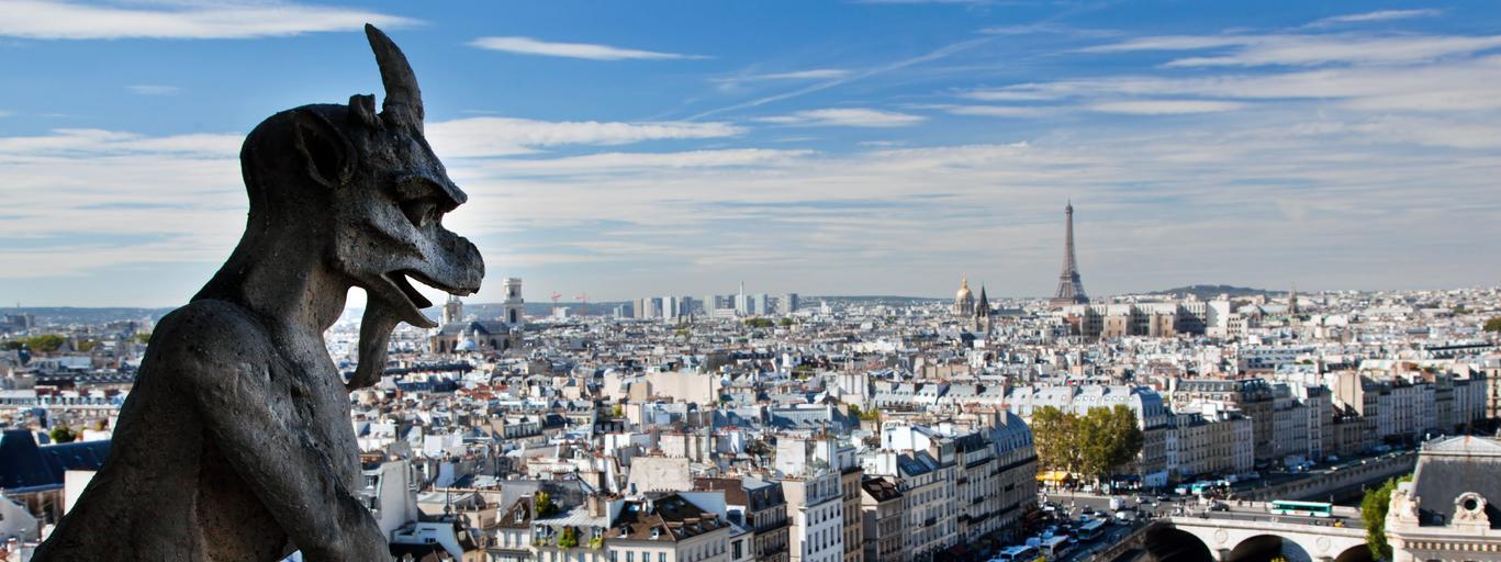 Paryż Francja podróże turystyka