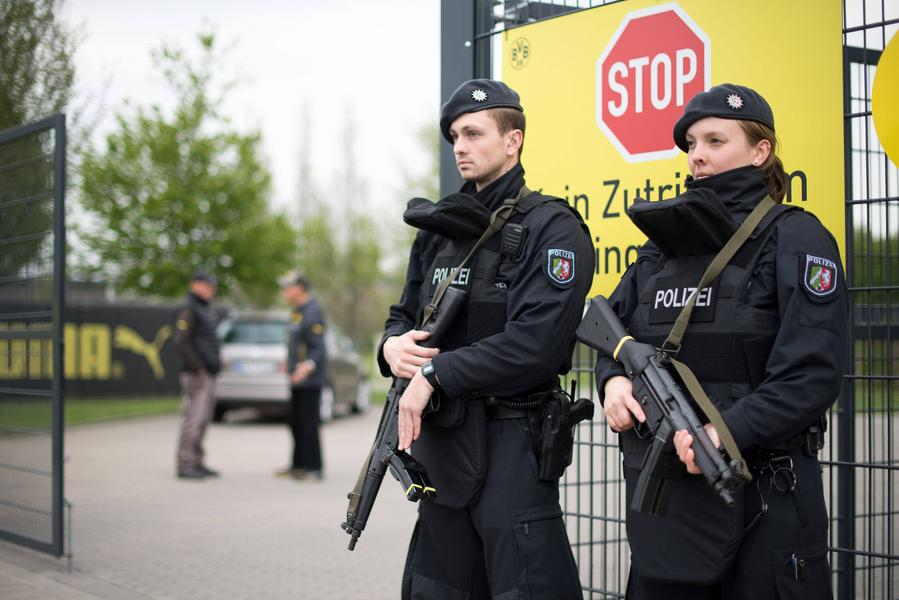 After the explosion near the Borussia Dortmund team bus
