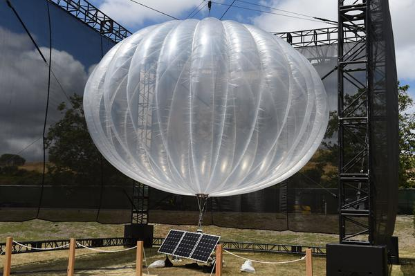 Googles Internet-Ballon ''Project Loon''