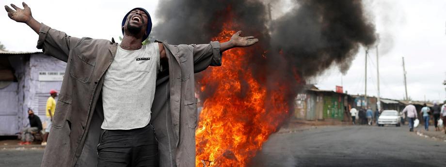 Kenia walczy