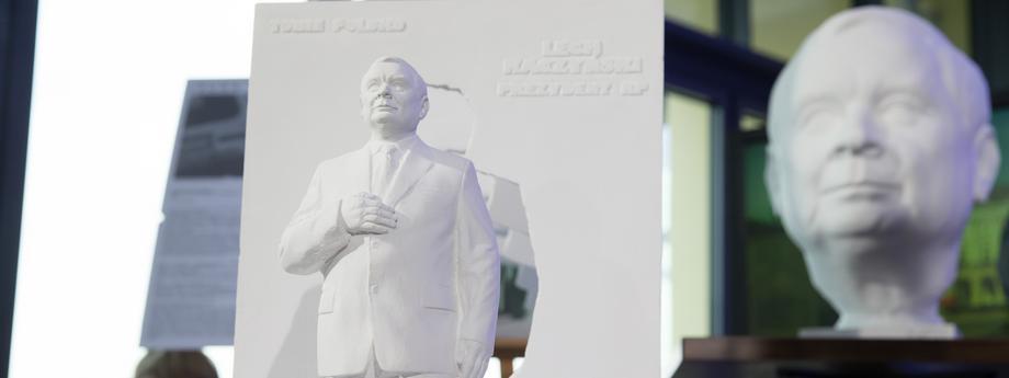 Lech Kaczyński pomnik pomnik lecha Kaczyńskiego
