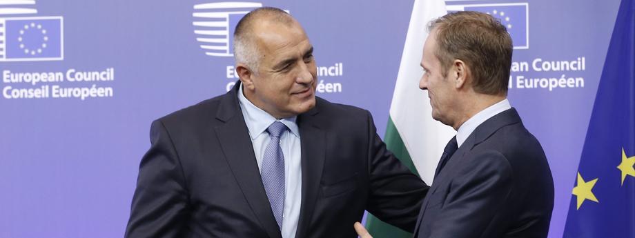 Bojko Borysow Donald Tusk polityka Unia Europejska Polska Bułgaria Komisja Europejska Rada Europejska