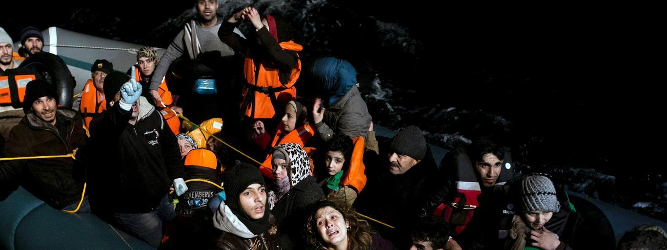 uchodźcy migranci Morze Egejskie Agatonisi