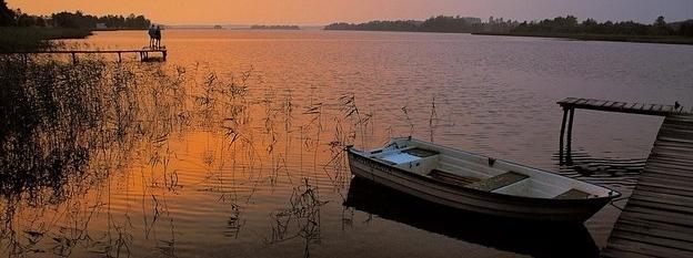 Mazury, jezioro