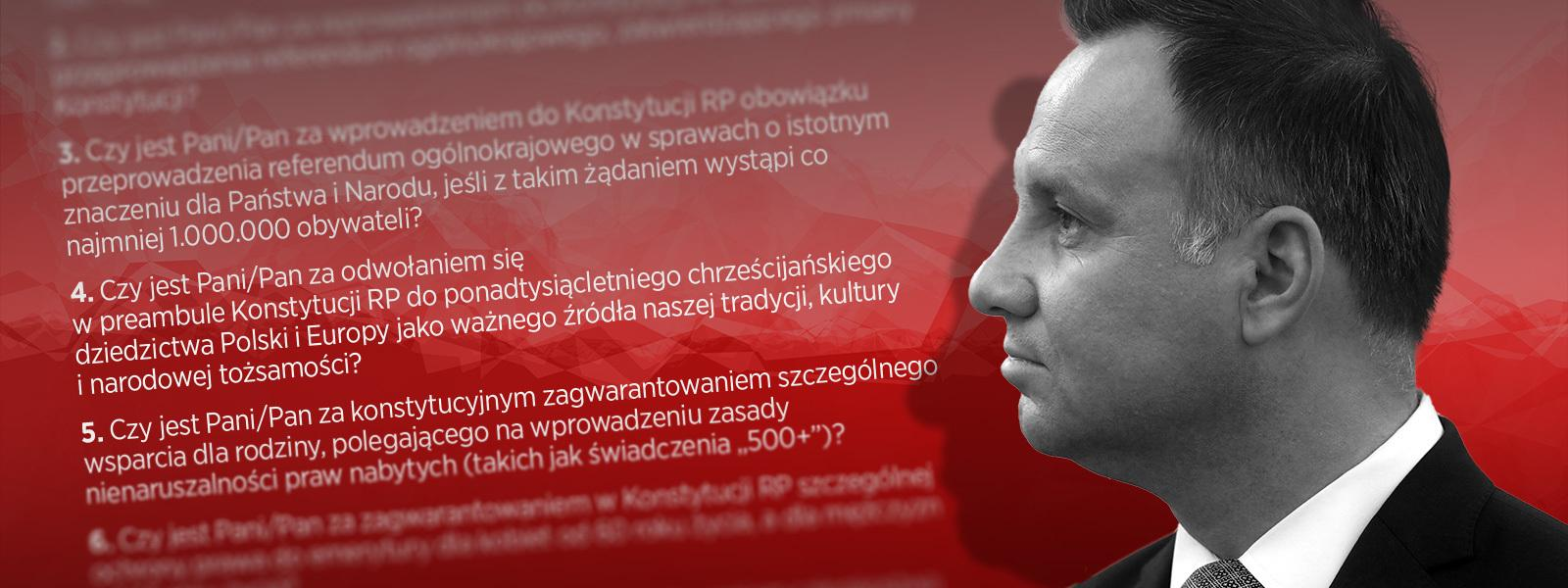 Andrzej Duda konstytucja RP referendum konstytucyjne