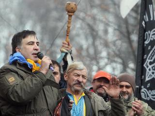 Saakaszwili kontra Poroszenko: walka byłych sojuszników