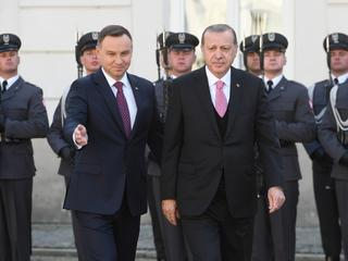 Recep Tayyip Erdogan, Andrzej Duda