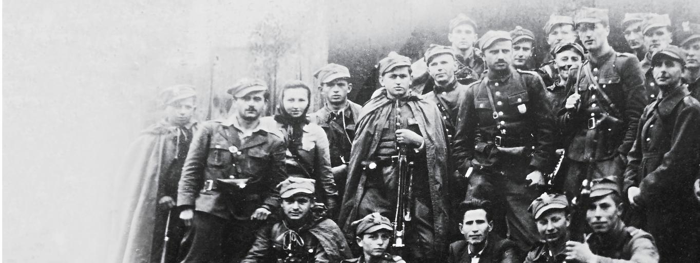 Żołnierze 4. szwadronu 5. Brygady Wileńskiej AK