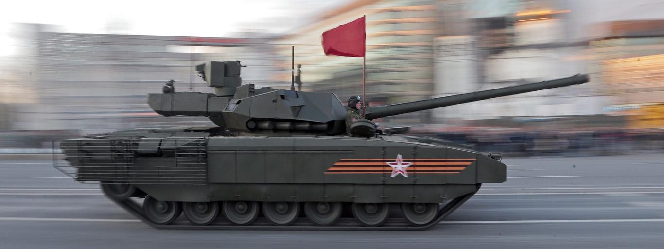 Armata T-14 czołg Rosja