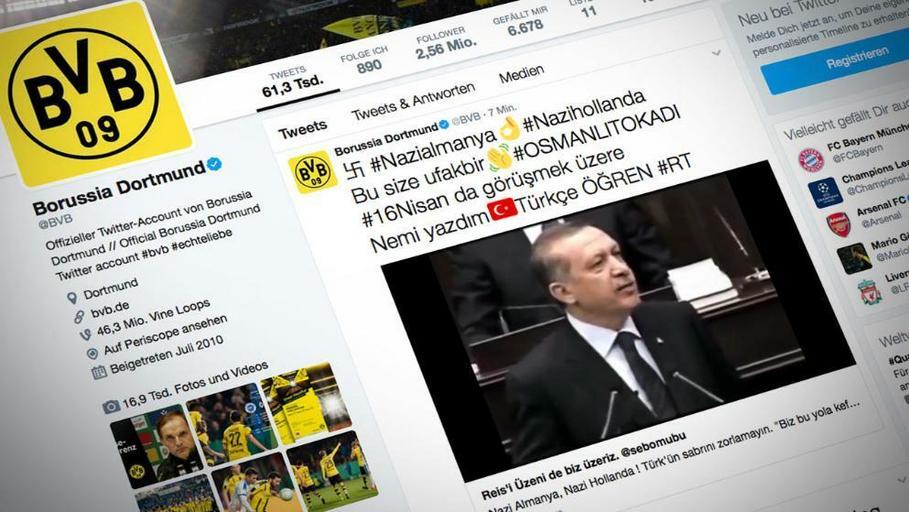 Twitter, Borussia Dortmund