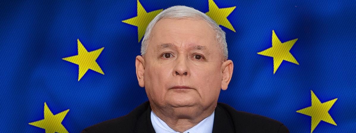 Jarosław Kaczyński UE