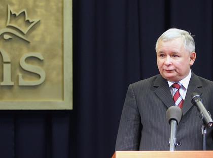 Premier Jarosław Kaczyński 2007