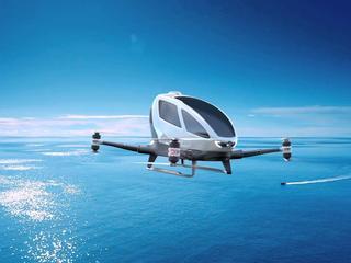Dron zamiast taksówki zabierze Cię do domu. I to nawet dziś