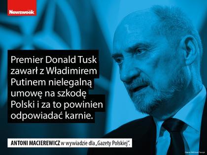 Antoni Macierewicz polityka MON Prawo i Sprawiedliwość PiS
