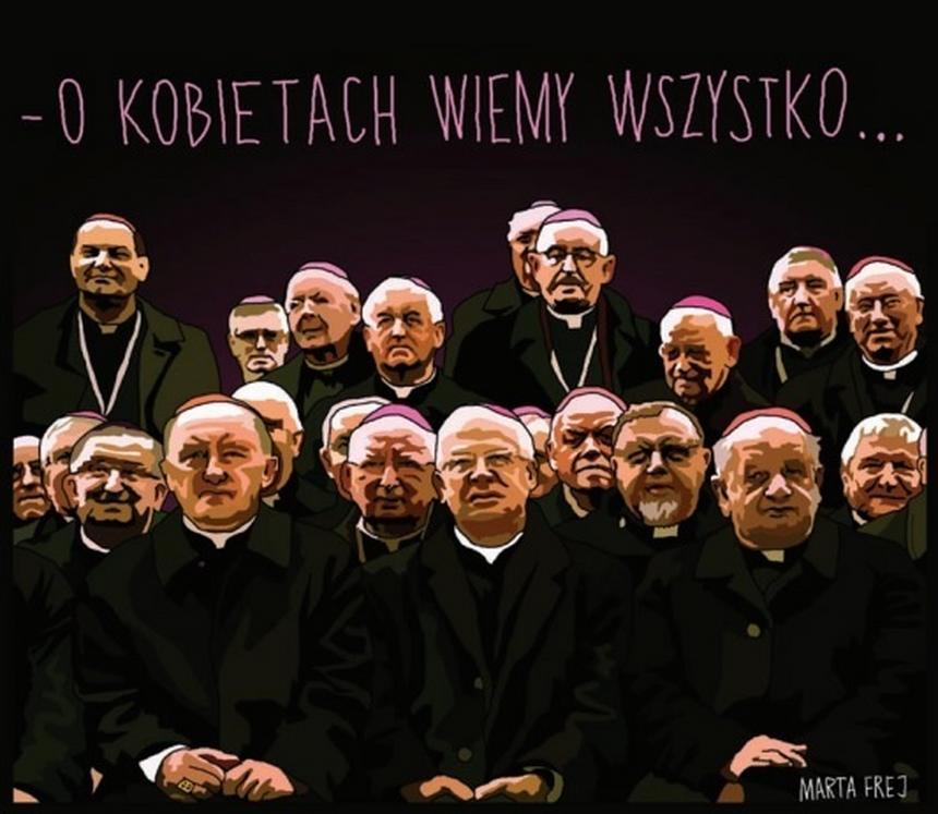 Mem opublikowany w książce Agnieszki Graff i Marty Frej
