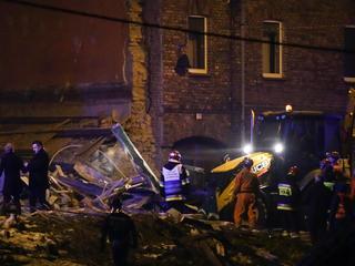 Tragedia w Sosnowcu. Wybuchł gaz, zawaliła się kamienica