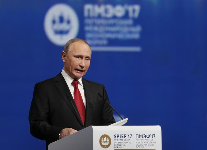 St. Petersburg International Economic Forum 2017