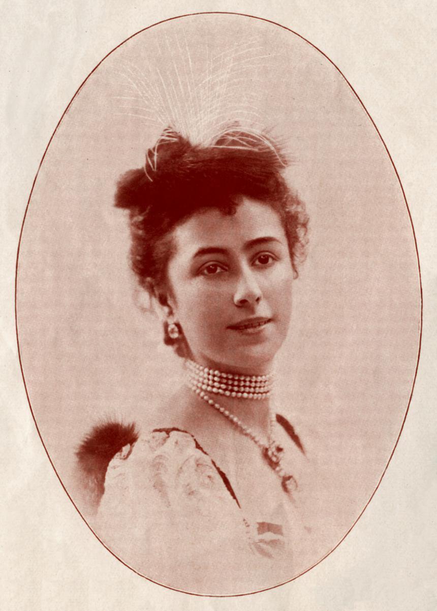 Matylda Krzesińska, zdjęcie wykonane przed rokiem 1898